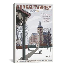 Steve Thomas Punxsutawney Canvas Print Wall Art