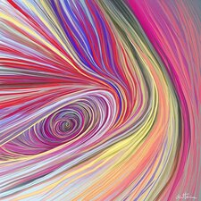 'Pure Abstract Bis' by Ben Heine Graphic Art on Canvas