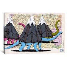 Ric Stultz Born To Move Mountains Canvas Print Wall Art