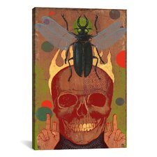 Anthony Freda Skull Canvas Print Wall Art