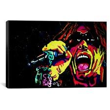 Rock Demarco Steven Tyler 001 Canvas Print Wall Art
