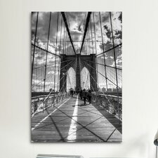 Brooklyn Bridge II (New York City) by Christopher Bliss Photographic Print on Canvas