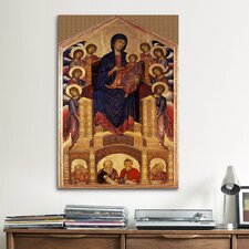 'Madonna of the Holy Trinity' by Cimabue Painting Print on Canvas
