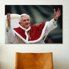 Christian Pope Benedict XVI Photographic Print on Canvas