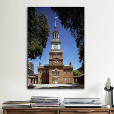 Political Independence Hall Building Photographic Print on Canvas
