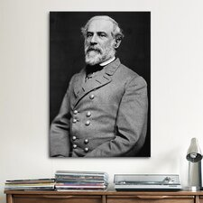 Political General Robert E. Lee Photographic Print on Canvas