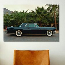 Cars and Motorcycles Continental Lincoln 1962 Photographic Print on Canvas