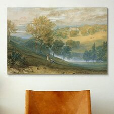'Gledhow Hall, Yorkshire' by Joseph William Turner Painting Print on Canvas