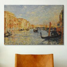 'Grand Canal Venice' by Pierre-Auguste Renoir Painting Print on Canvas