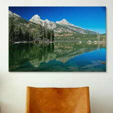 'Grand Teton 06' by Gordon Semmens Photographic Print on Canvas