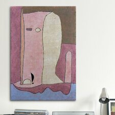 'Garden Figure' by Paul Klee Painting Print on Canvas