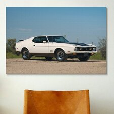 Cars and Motorcycles 1971 Ford Mustang Mach I Photographic Print on Canvas