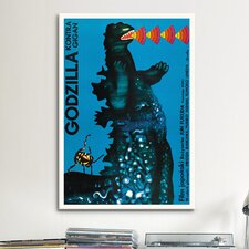 Godzilla Kontra Gigan Vintage Advertisement on Canvas