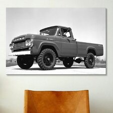 Cars and Motorcycles 1969 Ford F-250 4x4 Photographic Print on Canvas