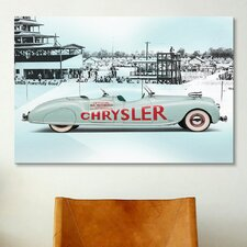 Cars and Motorcycles 1941 Chrysler Newport Dual Cowl Phaeton Pace Car Photographic Print on Canvas