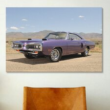 Cars and Motorcycles 1970 Dodge Coronet Hemi R-t Hardtop Photographic Print on Canvas