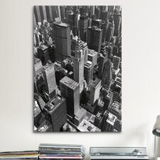 'Chrysler Building and Midtown Manhattan' by Chris Bliss Photographic Print on Canvas