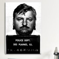 Mugshot John Wayne Gacy - Serial Killer Photographic Print on Canvas