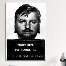 Mugshot John Wayne Gacy - Serial Killer Photographic Print on Canvas
