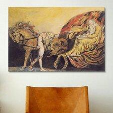 'God Judging Adam' by William Blake Painting Print on Canvas