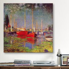 """Argenteuil"" Canvas Wall Art by Claude Monet"