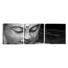 Photography Chinese Buddha 3 Piece on Canvas Set