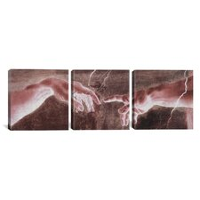 Michelangelo The Creation of Adam VI Di Lodovico Buonarroti Simoni 3 Piece on Canvas Set