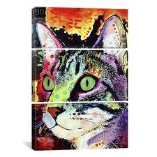 Dean Russo Curiosity Cat 3 Piece on Canvas Set