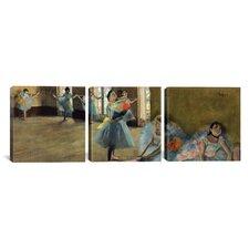 Edgar Degas Dancers 3 Piece on Canvas Set