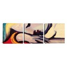 Pablo Picasso The Rest 3 Piece on Canvas Set