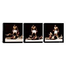 Muhammad Ali Vs. Sonny Liston 3 Piece on Canvas Set