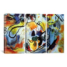 Wassily Kandinsky The Last Judgment 3 Piece on Canvas Set