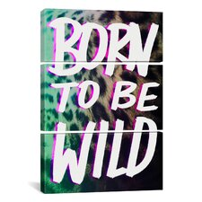 Leah Flores Born to Be Wild 3 Piece on Canvas Set
