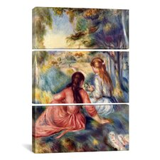 Pierre-Auguste Renoir In The Meadow 3 Piece on Canvas Set