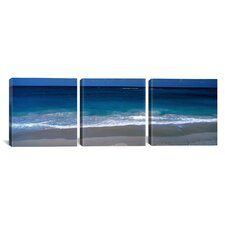 Photography Waters Edge Barbados Caribbean 3 Piece on Canvas Set