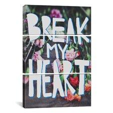 Leah Flores Break My Heart 3 Piece on Canvas Set