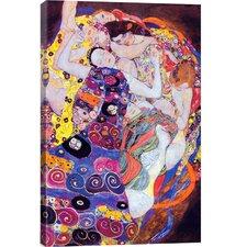 Virgin by Gustav Klimt Painting Print on Canvas