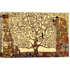 The Tree of Life by Gustav Klimt Painting Print on Canvas