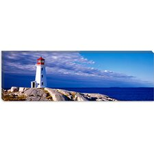 <strong>iCanvasArt</strong> Peggy's Cove, Nova Scotia, Canada Canvas Wall Art