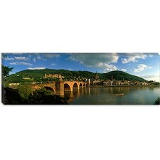 <strong>iCanvasArt</strong> Bridge, Heidelberg, Germany Canvas Wall Art