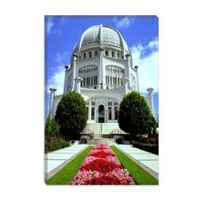 <strong>iCanvasArt</strong> Bahai Temple Chicago Photographic