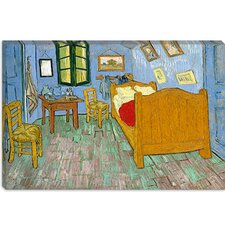 "<strong>iCanvasArt</strong> ""Bedroom in Arles ll"" Canvas Wall Art by Vincent van Gogh"