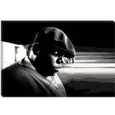 <strong>iCanvasArt</strong> Biggie Smalls Canvas Wall Art