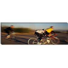 <strong>iCanvasArt</strong> Bicycle Race, Tucson, Pima County, Arizona Canvas Wall Art