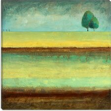 "<strong>iCanvasArt</strong> ""A Tree by a River"" Canvas Wall Art by Pablo Esteban"