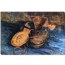 """A Pair of Shoes"" Canvas Wall Art by Vincent van Gogh"