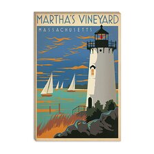 <strong>iCanvasArt</strong> Blue Martha's Vineyard, Maryland Canvas Wall Art