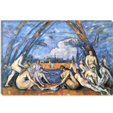 """Bathers 2"" Canvas Wall Art by Paul Cezanne"
