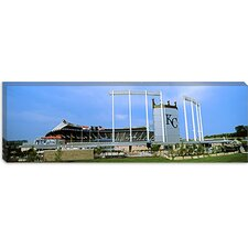 Kauffman Stadium, Kansas City, Missouri Canvas Wall Art