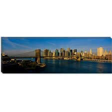 Brooklyn Bridge, NYC, New York City, New York State Canvas Wall Art